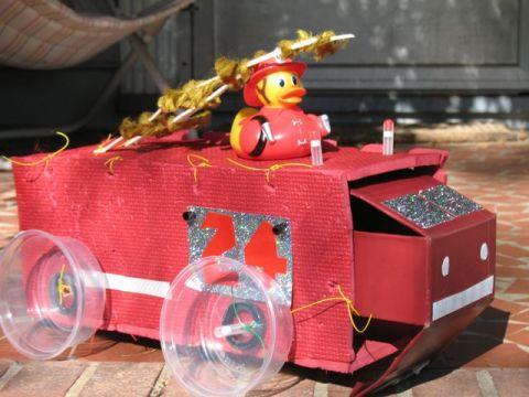 Scrap Fire Truck