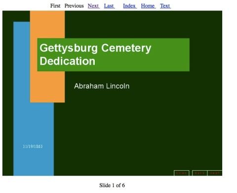 Gettysburg Address powerpoint